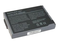 CableWholesale.com - Notebook battery - 1 x lithium ion 4400 mAh - for Acer TravelMate 520, 521, 522, 524, 525, 527, 528, 529