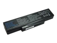 CableWholesale.com - Notebook battery - 1 x lithium ion 4400 mAh - for ASUS F2F; F2Hf; F2J; F3F; F3JA; F3Jc; F3JM; F3Jp
