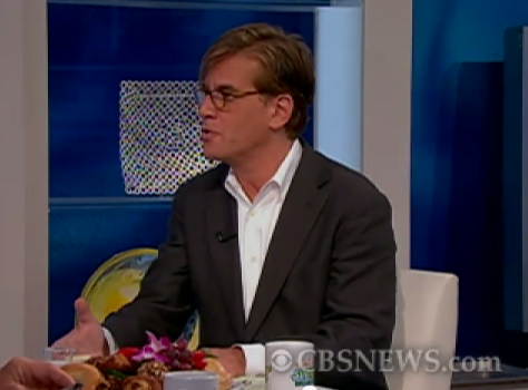 "Sorkin talking to CBS News about ""The Social Network"" in 2010."