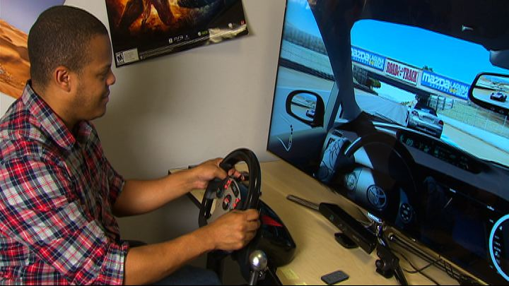 Video: Fanatec CSR racing combo for Xbox 360