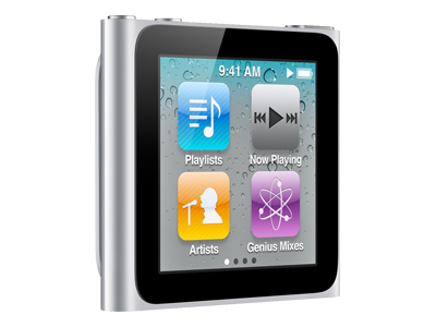 Apple iPod Nano 2011 (8GB, silver)