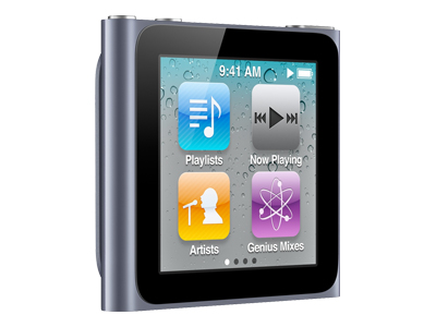 Apple iPod Nano 2011 (8GB, graphite)