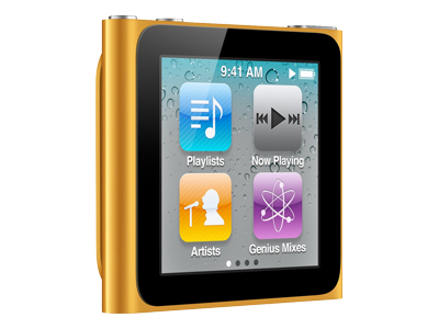 Apple iPod Nano 2011 (16GB, orange)
