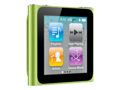 Apple iPod Nano 2011 (8GB, green)