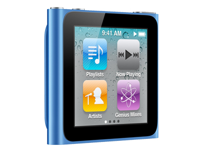 Apple iPod Nano 2011 (16GB, blue)