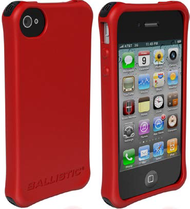 The new Ballistic LS Smooth case for the iPhone 4/4S comes in many colors.