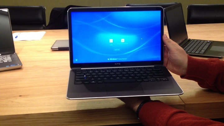 Video: Dell's first ultrabook laptop, the XPS 13