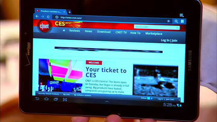 Video: It's the Galaxy Tab 7.7, for the Goldilocks in you