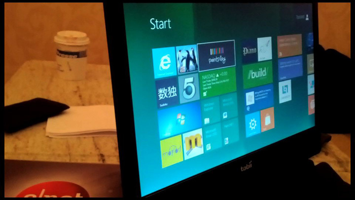 Video: Control Windows 8 with your eyes