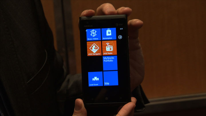 Video: Nokia's Lumia 900 goes official at CES