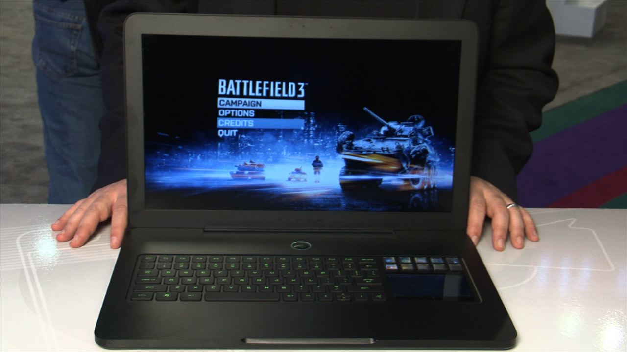 Video: A first look at the Razer Blade gaming laptop