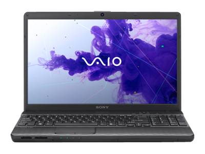 "Sony VAIO E Series VPC-EH3DGX/B - Core i3 2350M / 2.3 GHz - Windows 7 Professional 64-bit - 4 GB RAM - 640 GB HDD - DVD-Writer - 15.5"" wide 1366 x 768 / HD - Intel HD Graphics 3000 - charcoal black - keyboard: QWERTY"