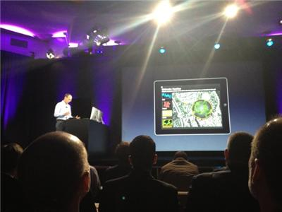 A look at iBooks 2 at Apple's NYC event.