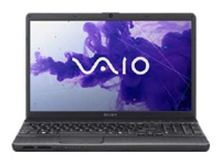 "Sony VAIO E Series VPC-EH37FX/B - Core i5 2450M / 2.5 GHz - Windows 7 Home Premium 64-bit - 6 GB RAM - 640 GB HDD - DVD-Writer - 15.5"" wide 1366 x 768 / HD - Intel HD Graphics 3000 - charcoal black - keyboard: QWERTY"