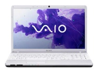 "Sony VAIO E Series VPC-EH34FX/W - Core i3 2350M / 2.3 GHz - Windows 7 Home Premium 64-bit - 4 GB RAM - 640 GB HDD - DVD-Writer - 15.5"" wide 1366 x 768 / HD - Intel HD Graphics 3000 - glacier white - keyboard: QWERTY"