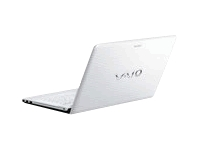 "Sony VAIO E Series VPC-EG36FX/W - Core i5 2450M / 2.5 GHz - Windows 7 Home Premium 64-bit - 6 GB RAM - 640 GB HDD - DVD-Writer / Blu-ray - 14"" wide 1366 x 768 / HD - Intel HD Graphics 3000 - glacier white - keyboard: QWERTY"