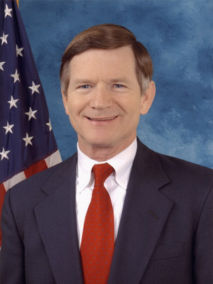 Texas Rep. Lamar Smith, Hollywood's favorite Republican, and the author of two controversial bills: SOPA and H.R. 1981