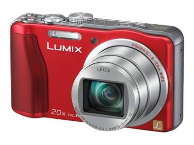 Panasonic Lumix DMC-ZS20 (Red)