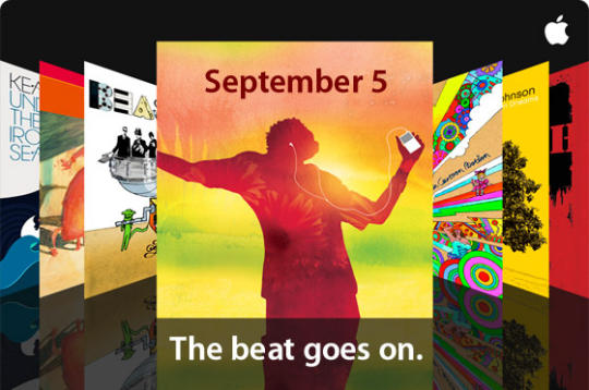 Apple's 2007 'The beat goes on' event