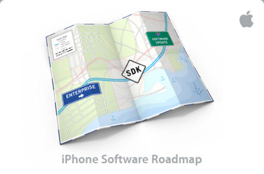 Apple's 'iPhone software roadmap' invitation in 2008