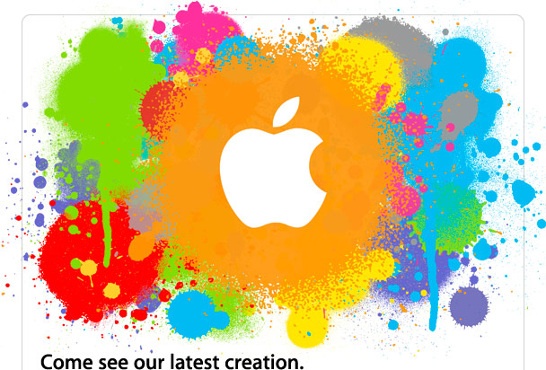Apple's 'come see our latest creation' event