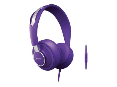 Philips CitiScape Downtown Headphones (Purple)