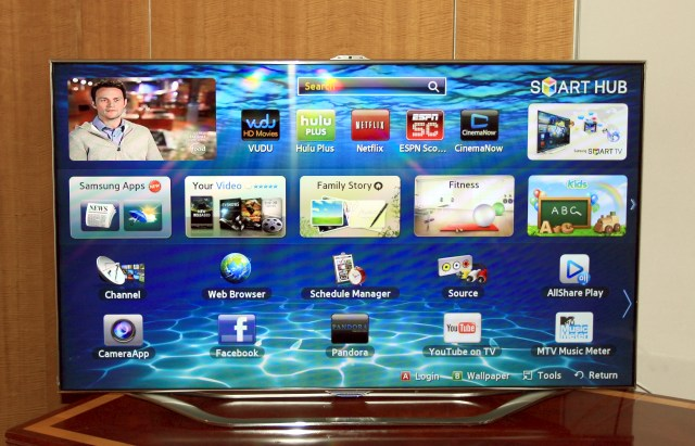 Samsung's flagship LCD and plasma