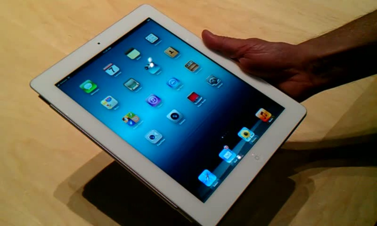 Video: New iPad demo
