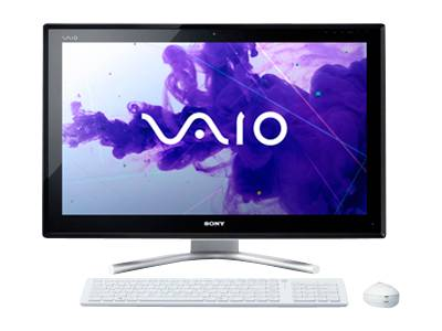 "Sony VAIO L Series All-In-One Touchscreen VPC-L23BFX/W - Core i5 2430M 2.4 GHz - 8 GB - 1.5 TB - LED 24"" - QWERTY"