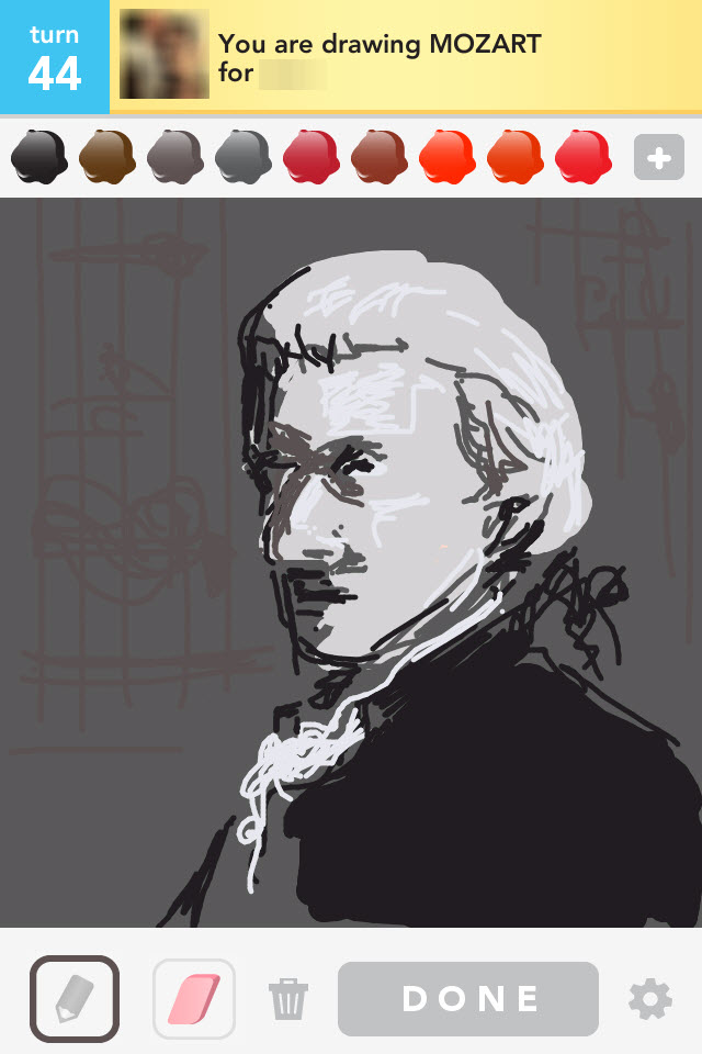 Draw Something: Mozart