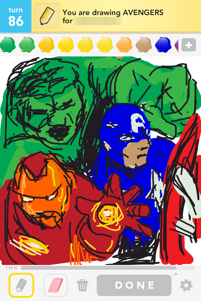 Draw Something: Avengers