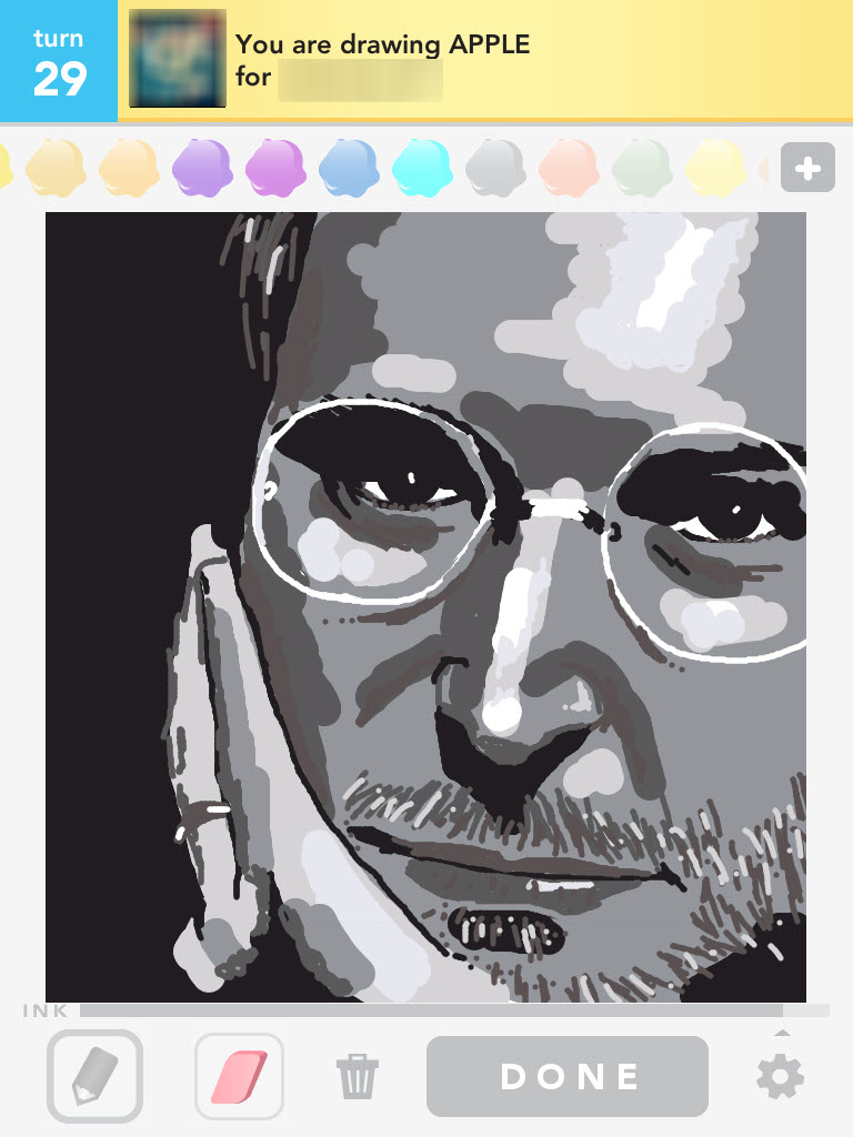 Draw Something: Steve Jobs