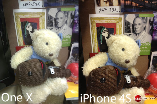 HTC One X and iPhone 4S cameras face off (photos)