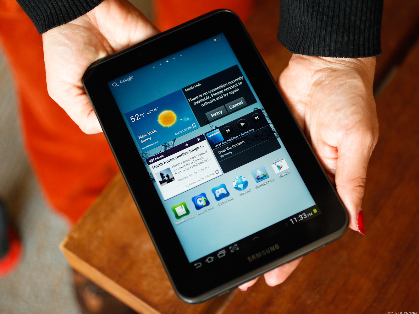 Samsung's second stab at the Galaxy Tab