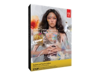 Adobe Creative Suite 6 Design & Web Premium Student and Teacher Edition - complete package
