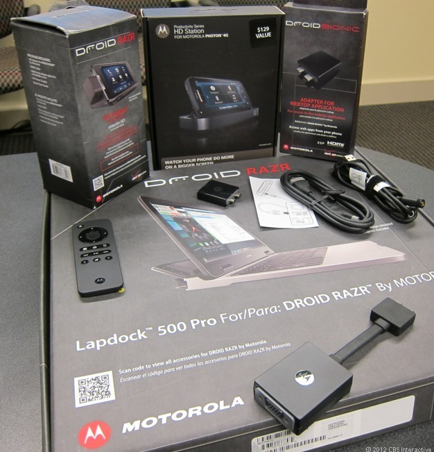 Motorola Webtop accessories