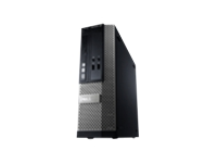 Dell OptiPlex 390 - SFF - 1 x Core i3 2120 / 3.3 GHz - RAM 2 GB - HDD 1 x 250 GB - DVD-Writer - HD Graphics 2000 - Gigabit LAN - Windows 7 Professional - Monitor : none. - keyboard: English