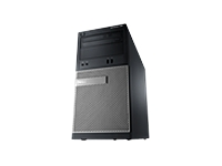 Dell OptiPlex 390 - MT - 1 x Core i5 2400 / 3.1 GHz - RAM 4 GB - HDD 1 x 500 GB - DVD-Writer - HD Graphics 2000 - Gigabit LAN - Windows 7 Professional 64-bit - Monitor : none. - keyboard: English