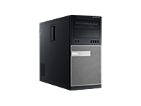Dell OptiPlex 990 - MT - 1 x Core i7 2600 / 3.4 GHz - RAM 4 GB - HDD 500 GB - DVD-Writer - Radeon HD 6670 - Gigabit LAN - Windows 7 Professional 64-bit - vPro - Monitor : none. - keyboard: English
