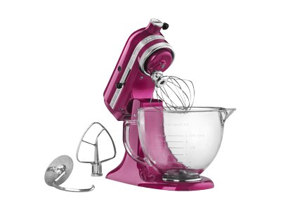 KitchenAid Artisan Series 5-Quart Tilt-Head Stand Mixer (raspberry ice)