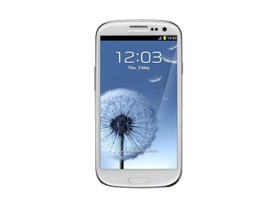 Samsung Galaxy S III - 16GB - marble white (Verizon Wireless)