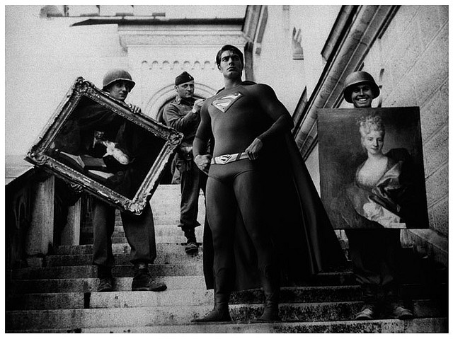 Superman at Neuschwanstein Castle