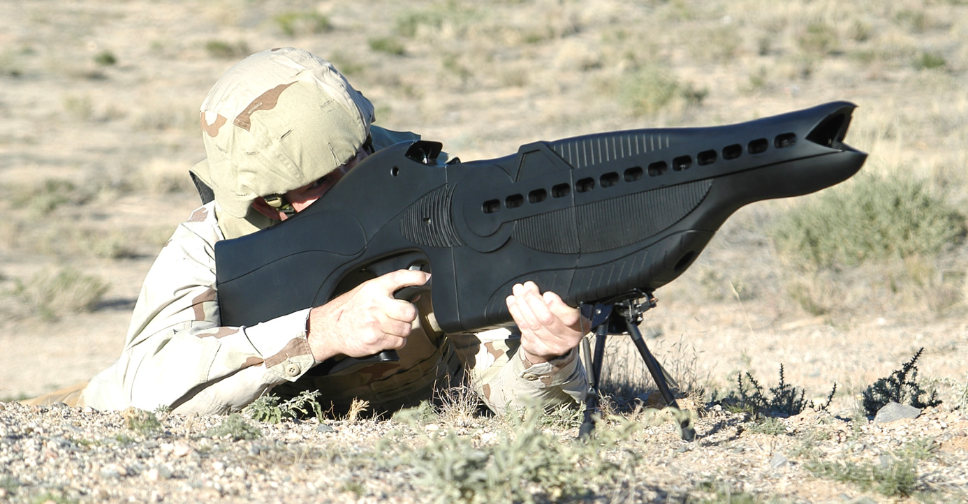 Personnel Halting and Stimulation Response (PHaSR) weapon