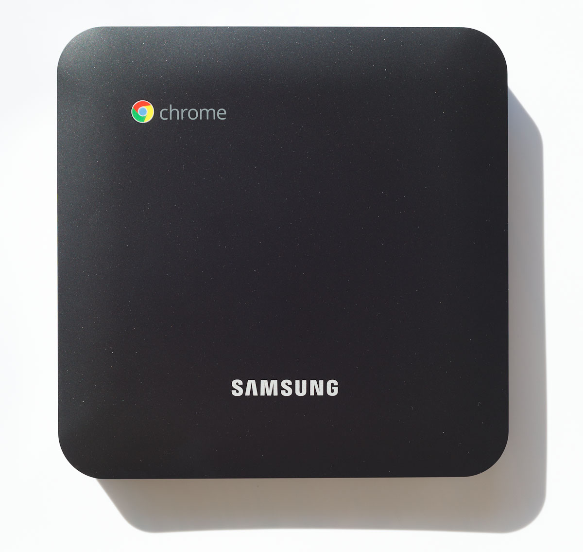 The Series 3 Chromebox is about 7.5 inches square as viewed from the top. At $329, it's cheaper than the Chromebook laptops that were the first to bring Google's Chrome OS to the market starting in 2011.