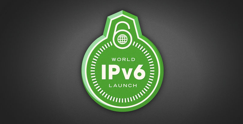 World IPv6 Launch graphic