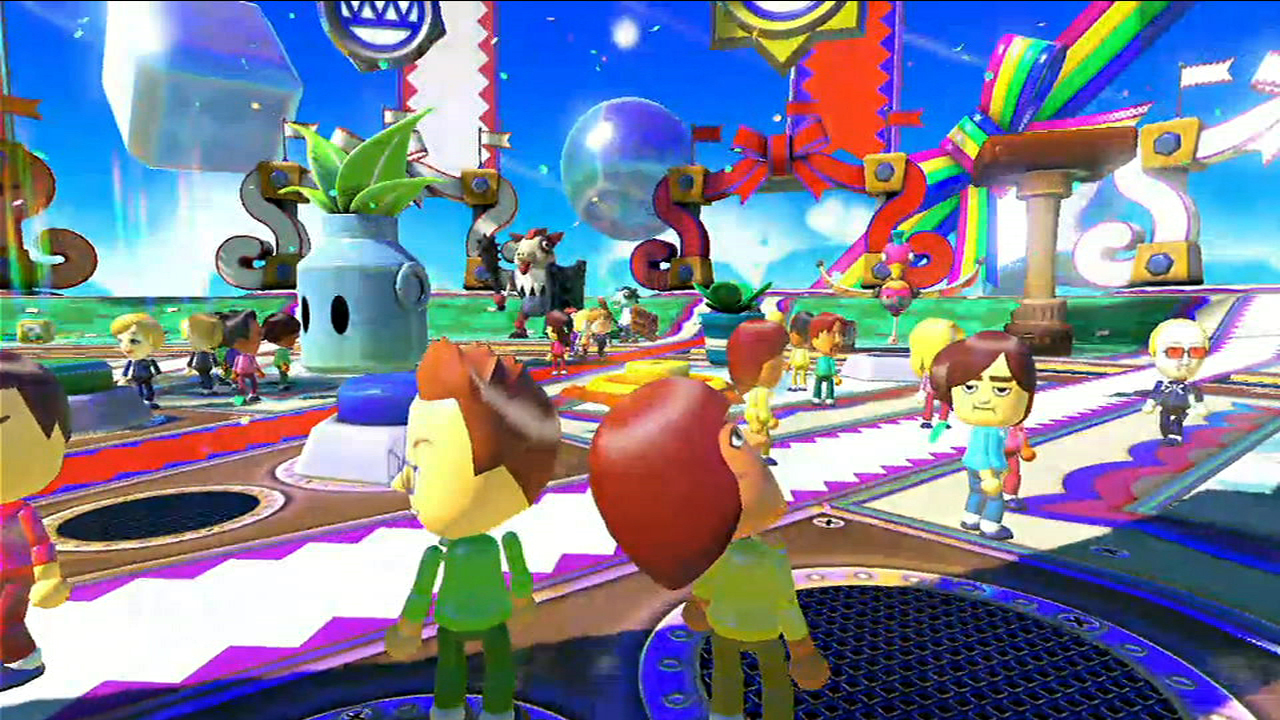 Nintendo unveils Nintendoland at E3 2012 in Los Angeles.