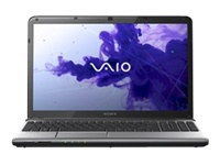 "Sony VAIO E Series SVE1511BGXS - Core i5 3210M / 2.5 GHz - Windows 7 Professional 64-bit - 6 GB RAM - 640 GB HDD - DVD-Writer - 15.5"" wide 1366 x 768 / HD - Intel HD Graphics 4000 - aluminum silver - keyboard: QWERTY"