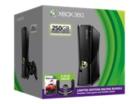 Microsoft Xbox 360 S (250GB) Racing Bundle