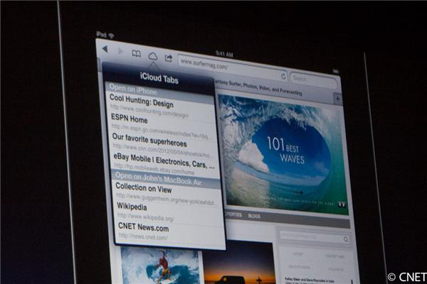 iCloud Tabs and other iOS improvements
