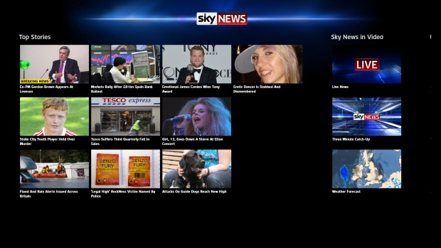 Top 10 Windows 8 Apps: Sky News
